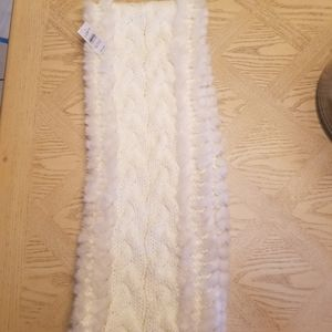NEW Ann Taylor Loft Ivory Infinity Scarf
